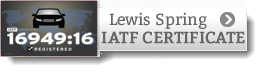 Lewis Spring IATF Certificate